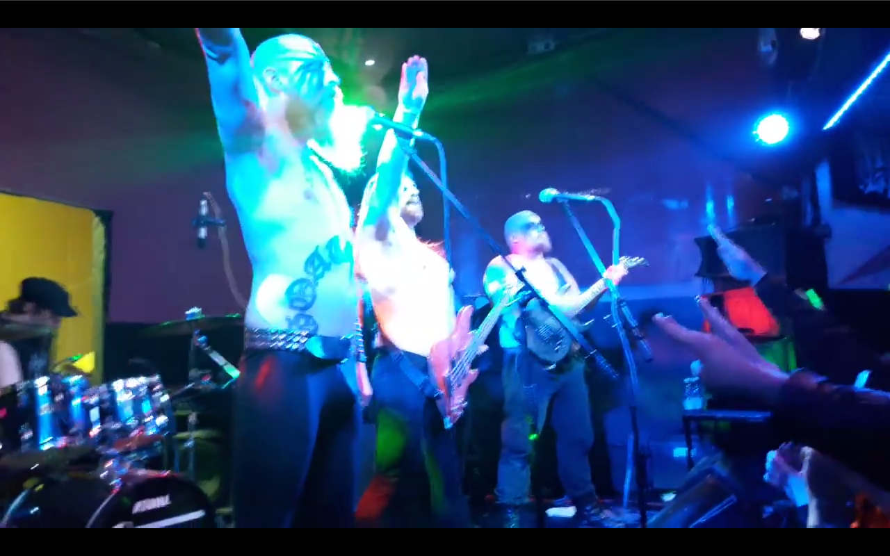 Screenshot Youtube Hot Shower Fest Band GOATMOON